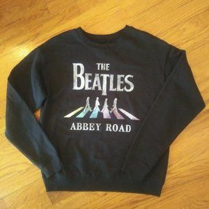 NWOT The Beatles Abbey Road Graphic Sweatshirt